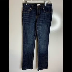 Paperdenim&cloth luxe mid rise straight dark #56A